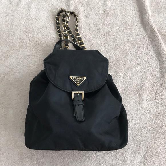 53d07aac8569 Prada Bags | Nylon Drawstring Backpack | Poshmark
